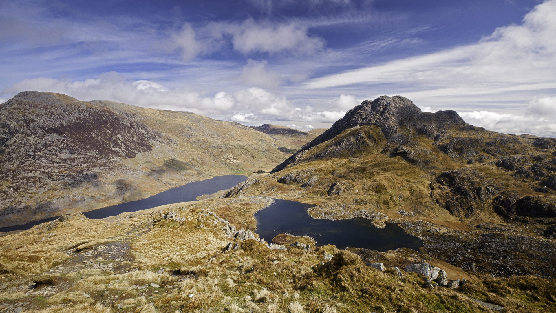 The National Park Of Snowdonia